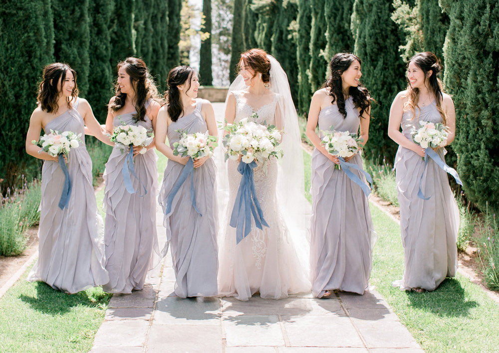 Beautiful Garden Wedding at Greystone Mansion