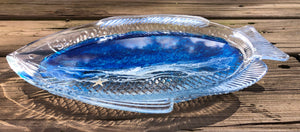 Glass Fish Dish
