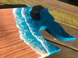 Hardwood Whale Tail Serving Board