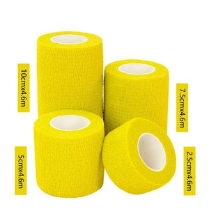 4.6M Sport Tape Waterproof Self Adhesive Elastic Bandage Muscle Tape Finger Joints Wrap Bandage Nonwoven Cohesive Bandage