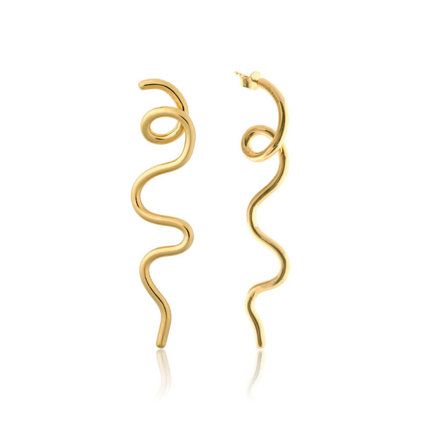 LOOPY EARRINGS L