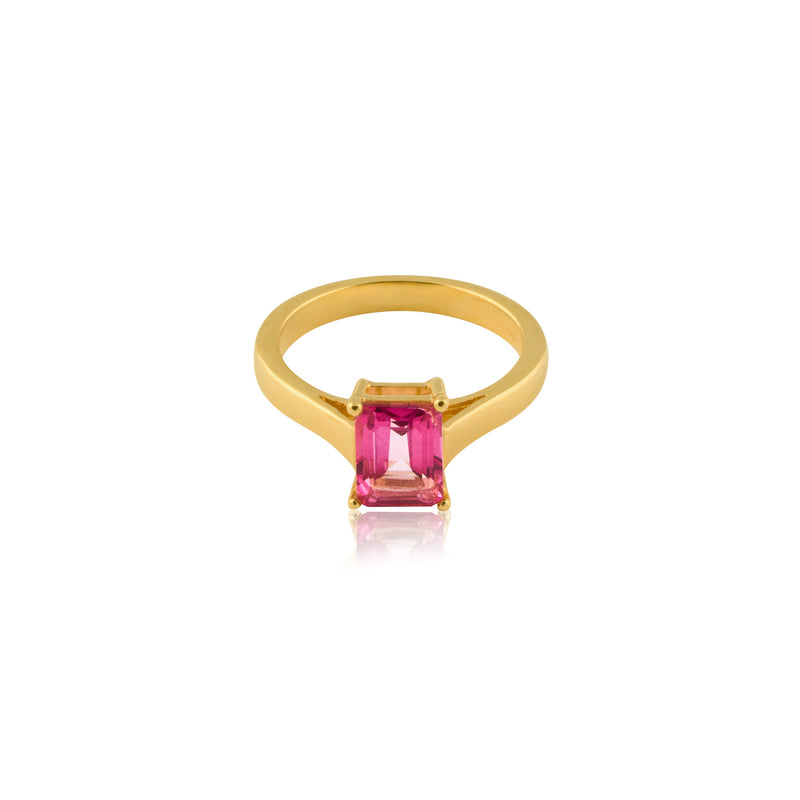 EMERALD-CUT RING S