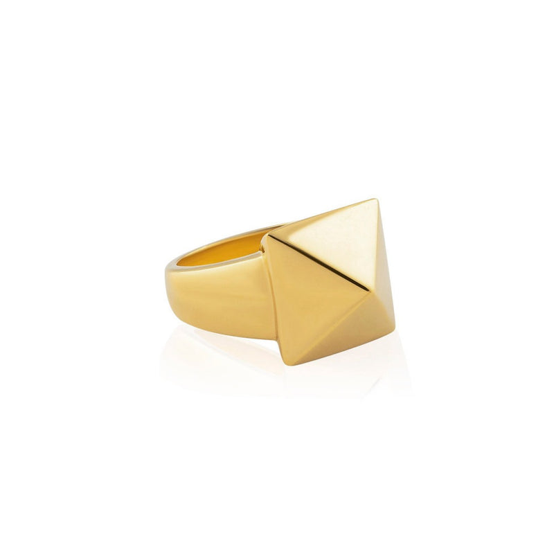 PYRAMID ONE STUD RING