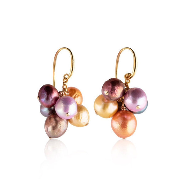 BAROQUE GRAPE EARRINGS