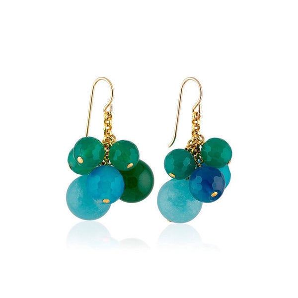 CANDY GRAPE EARRINGS