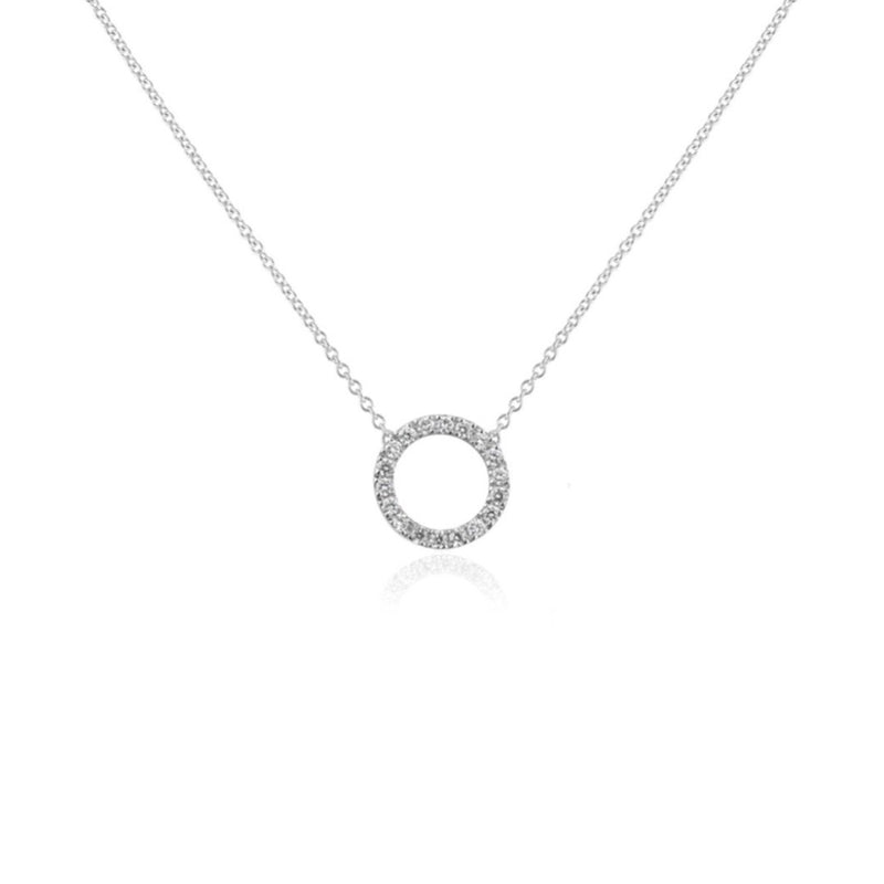 DIAMOND NECKLACE MINI CIRCLE