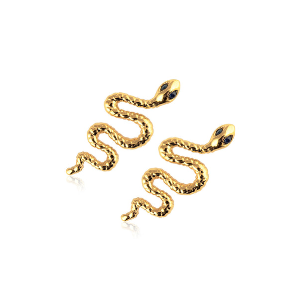 SNAKE EARRINGS L