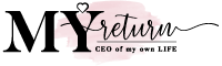 My Return and CEO of my own life is a logo for empowering apparel for women to support womenempowerment, self love and self worth
