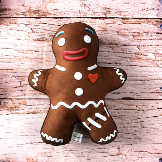 Gingerbread man pillow / christmas pillow / Gingy