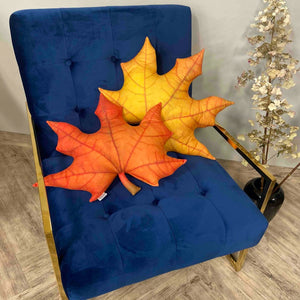 maple autumn pillow