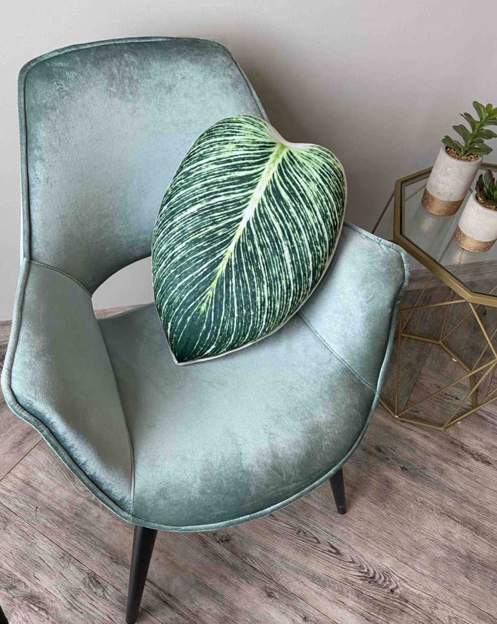 philodendron birkin plant pillow enjoypillows