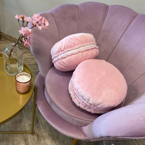 Macaroons cute pink pillow