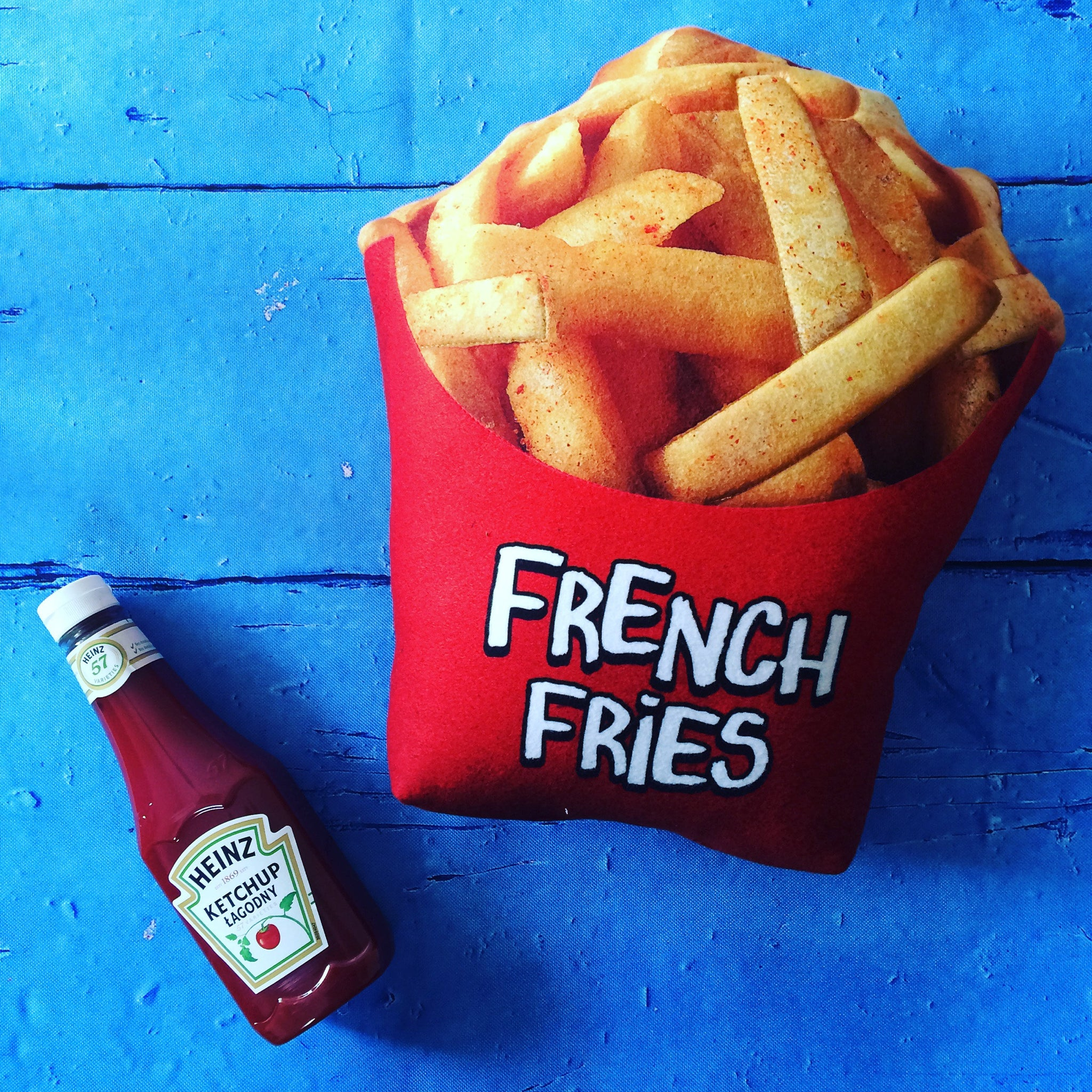 3d pillow french fries