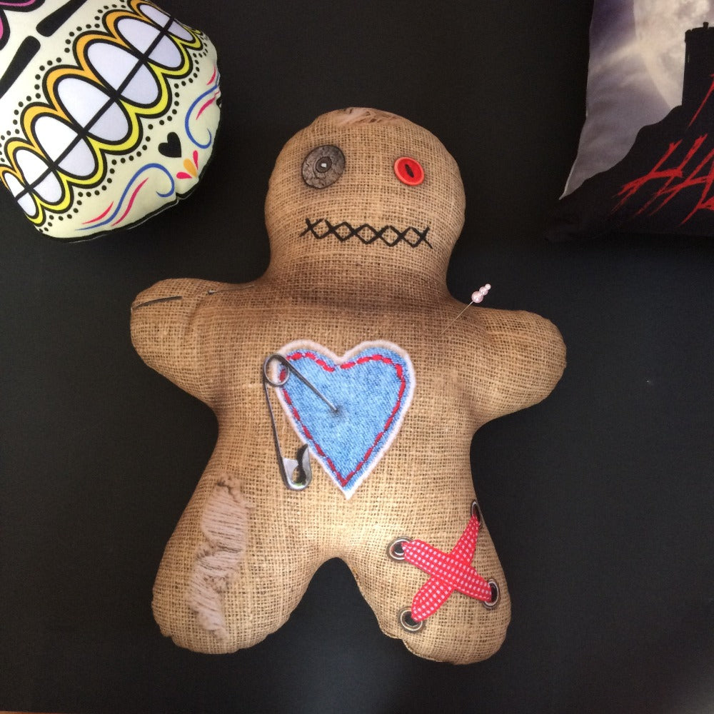 voodoo doll pillow