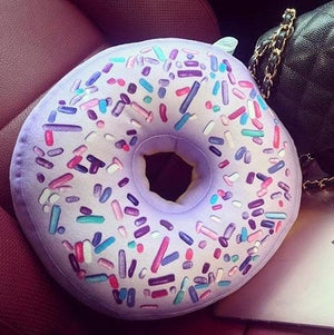 purple donut travel pillow