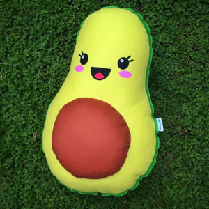 avocado cute pillow