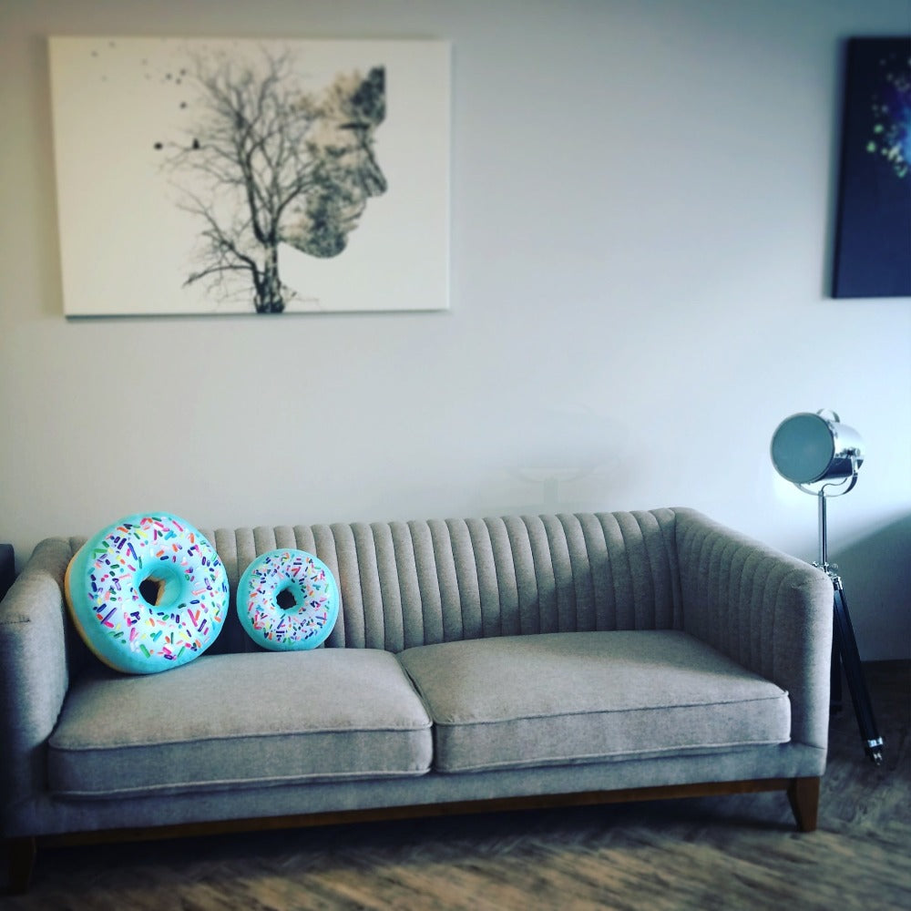donuts mint pillows