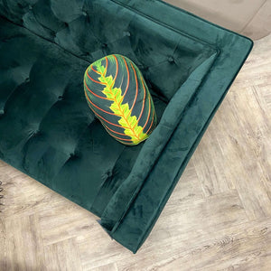 Maranta pillow / leaf pillow / plant pillow / urban jungle
