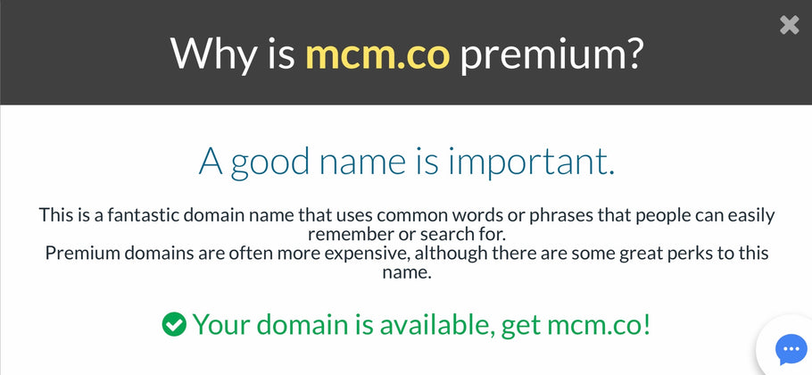 MCM.CO Premium Domain Name™
