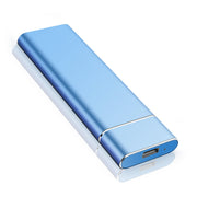 Ultra Slim 1tb 2tb portable external HDD - blue
