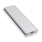 Ultra Slim 1tb 2tb portable external HDD - silver