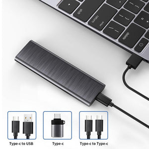 Portable SSD NVMe USB3.1 Gen2 10Gb/s External SSD hard drive USB-C
