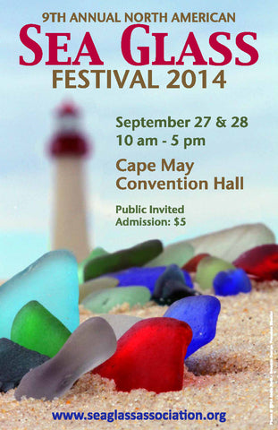 Out Of The Blue Sea Glass Jewelry will be a vendor at the 2014 North American Sea Glass Festival