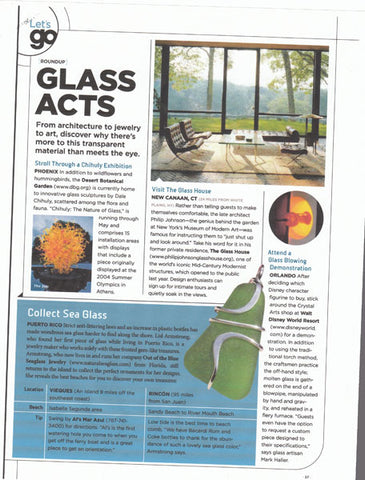 Out Of The Blue Sea Glass Jewelry in the news