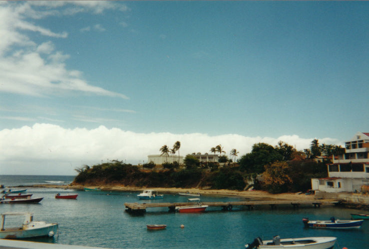 This image is of Isabel Segunda in Vieques, Puerto Rico.