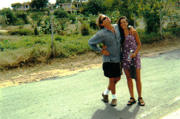 Ronnie and Lisl Armstrong in Vieques, Puerto Rico.