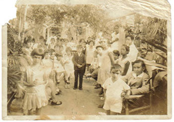 A Victorian era birthday party in Vieques, Puerto Rico.