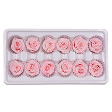 Load image into Gallery viewer, 12 Pcs High Quality Preserved Flowers Immortal Rose Valentines Day Gift For Girlfriend Mothers Day Eternal Life Flower Gifts Box
