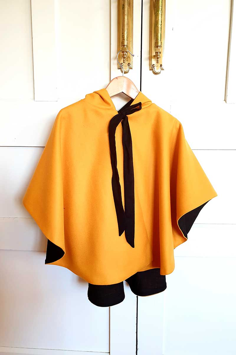 Cape Coat – Yellow