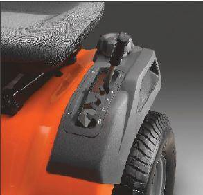 HUSQVARNA TS142 Fender Mounted Height Adjustment