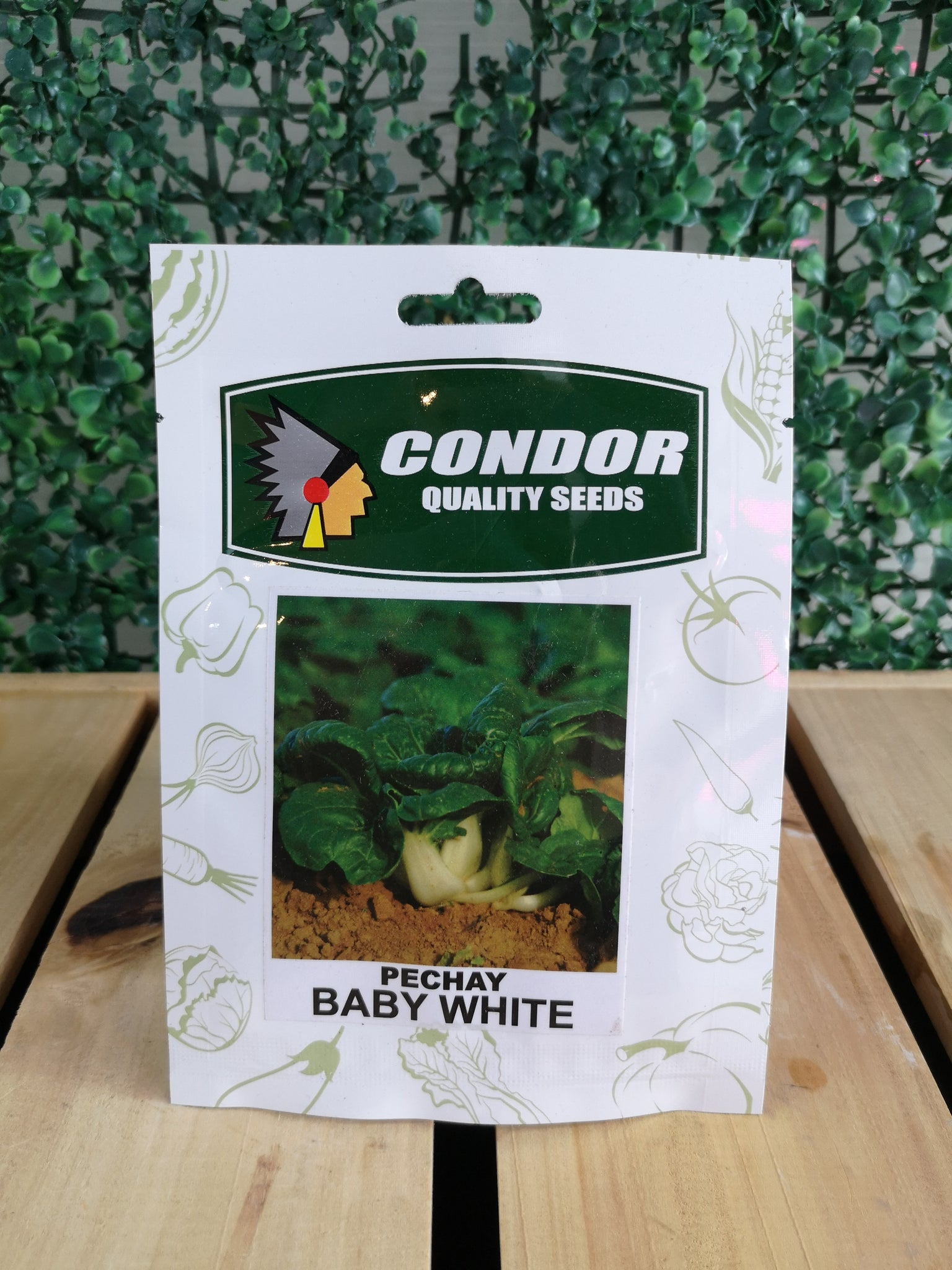 Condor Quality Seeds Pechay Baby White 5 grams