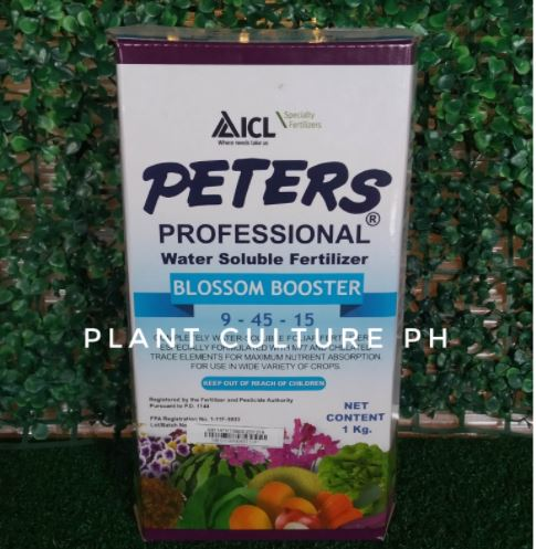 Peters Professional Water Soluble Fertilizer Bloom Booster 1kg by plant Culture PH