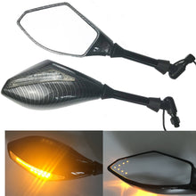 Load image into Gallery viewer, 2 X LED Turn Lights Side Mirrors Turn Signal Indicator Rearview Mirror Motorcycle