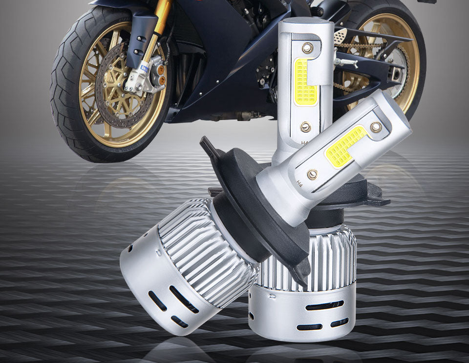 VooVoo H4 LED Motorcycle Headlight Bulb