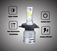 Load image into Gallery viewer, VooVoo H4 LED Motorcycle Headlight Bulb