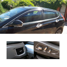 Load image into Gallery viewer, Car Styling Auto Self Adhesive Side Door Chrome Strip Trims