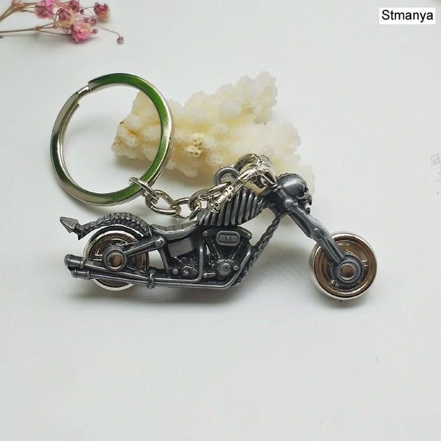New Motorcycle Key Chain Personality Skull