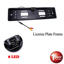 Load image into Gallery viewer, SINOVCLE Car Rear View Camera EU European License Plate Frame