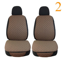 Load image into Gallery viewer, Car Seat Cover Protector Linen Front or Rear Seat Back Cushion Pad Mat Backrest
