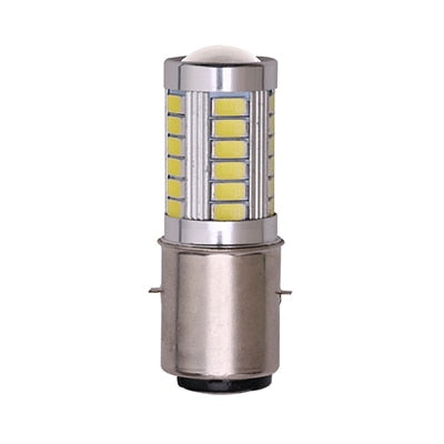 H6 BA20D Motorcycle Headlight Bulb Led