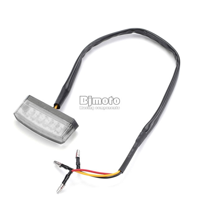 12V Motorcycle Rear Brake LED Tail Stop Light Lamp For  License Plate