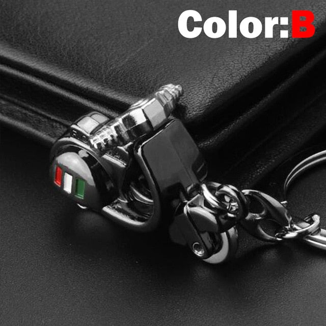 3D Motorcycle Car Key Ring Chain