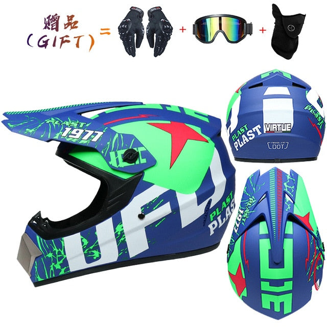 Fiery Motocross Helmet Off Road Professional ATV Cross Helmets