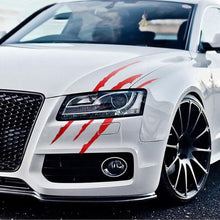 Load image into Gallery viewer, Auto Car Sticker Reflective Monster Claw Scratch Stripe Marks Headlight Decal Car Stickers