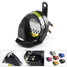 Load image into Gallery viewer, Waterproof 12V DC 130dB Snail Air Motorcycle Horn Siren Loud