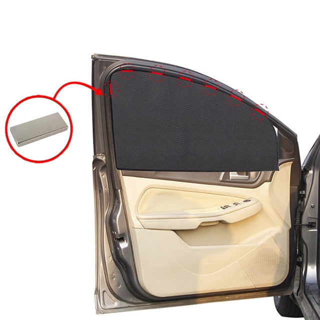 Magnetic Car Sun Shade UV Protection